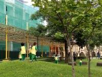 Junior Nursery Vertical Class Visits the Park