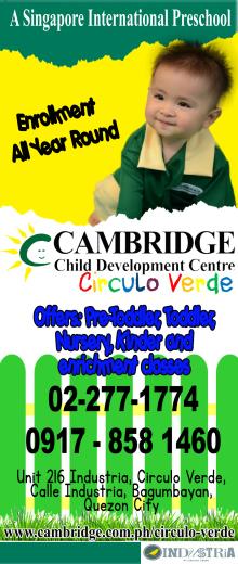 Cambridge Circulo Verde preschool trial classes
