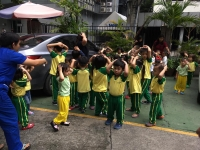 Duck, Cover, and Hold – Earthquake Drill at Cambridge Legaspi