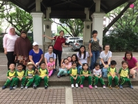 Junior Nursery B's Fieldwork at the Jaime C Velasquez Park