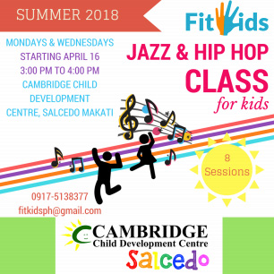 Jazz and Hip Hop Class for Kids