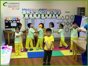 CCDC Shaw Nursery Vertical Culminating Activity