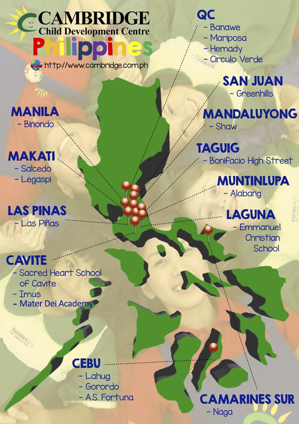 CCDC Centres Map