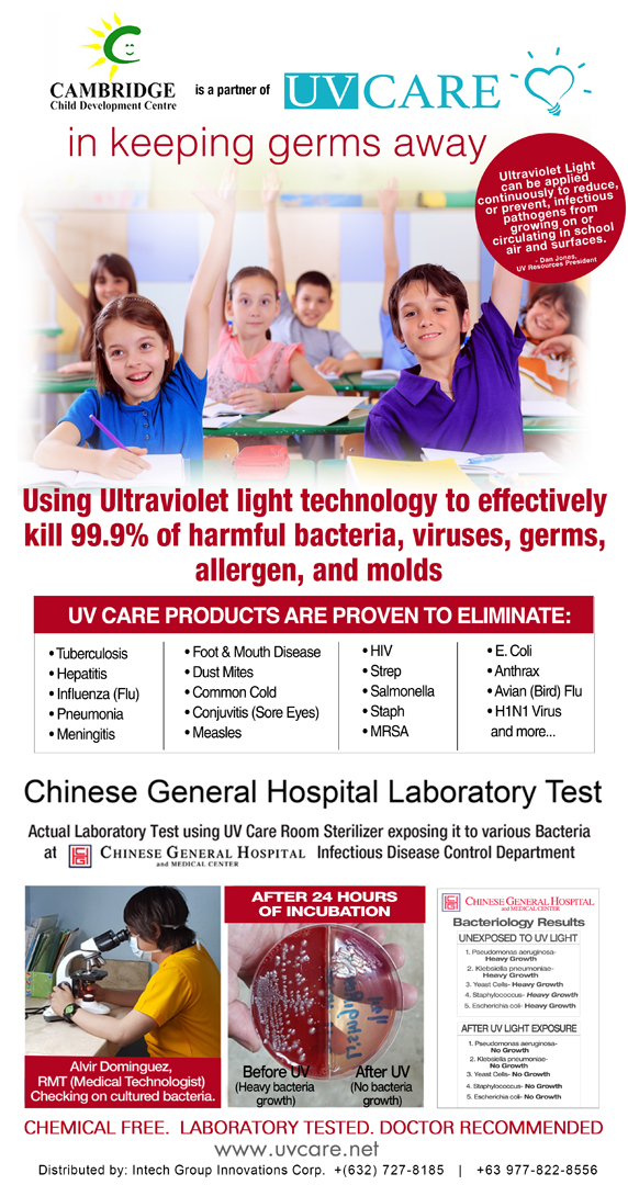 UV Care Poster