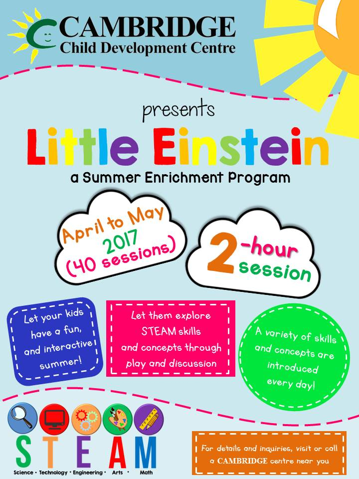 Little Einstein (STEAM) Summer Program Image