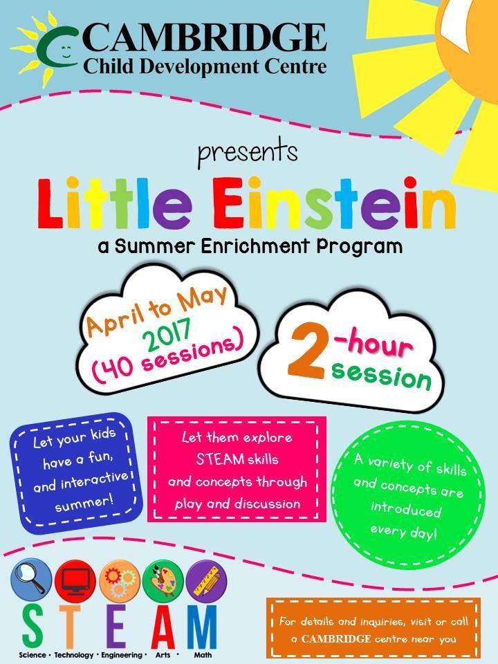 Little Einstein (STEAM) Summer Program Image