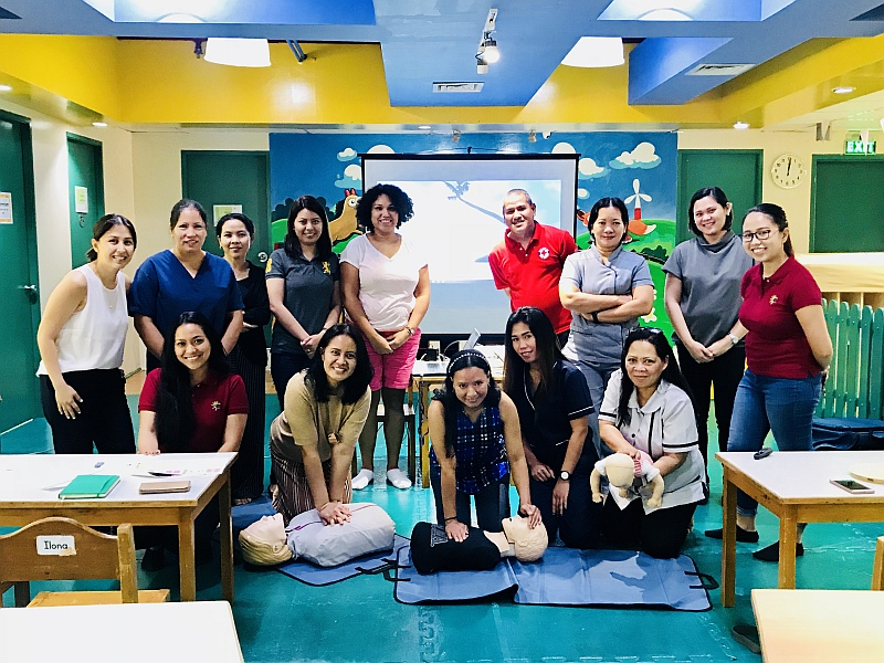 ACT FAST: First Aid Training for Parents group photo