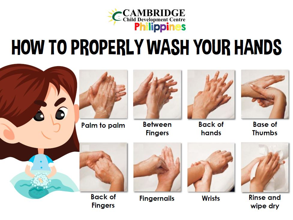 CCDC - How to Properly Wash Your Hands