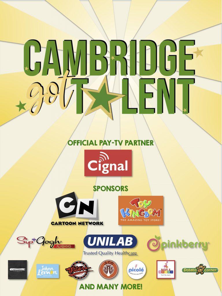 Cambridge Got Talent Sponsors