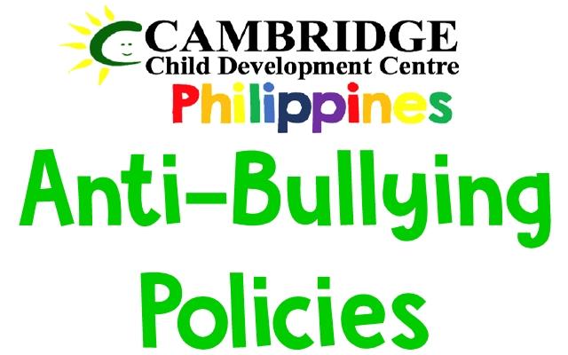 Cambridge Anti-Bullying Policies