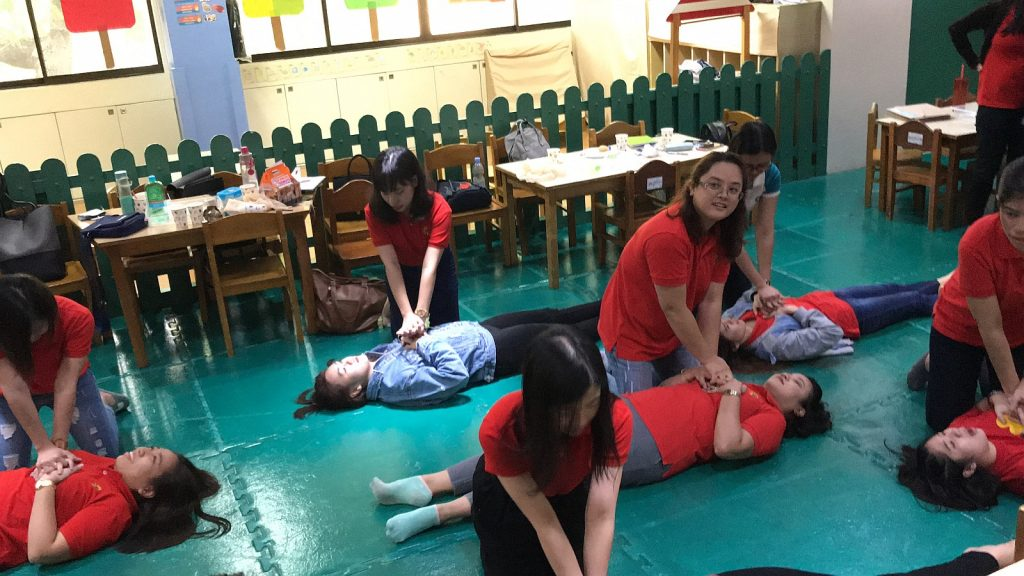 Cambridge Alabang - Teachers First Aid Training