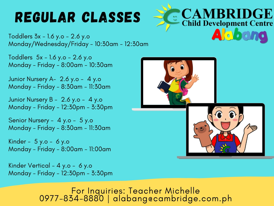 Cambridge Alabang Regular Classes
