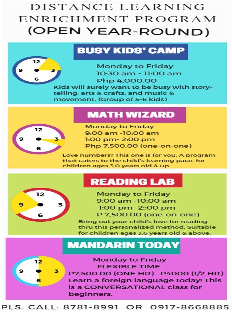 Distance Learning Enrichment Program