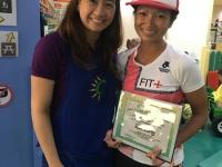 Coach Kaye, A Professional Triathlete Says