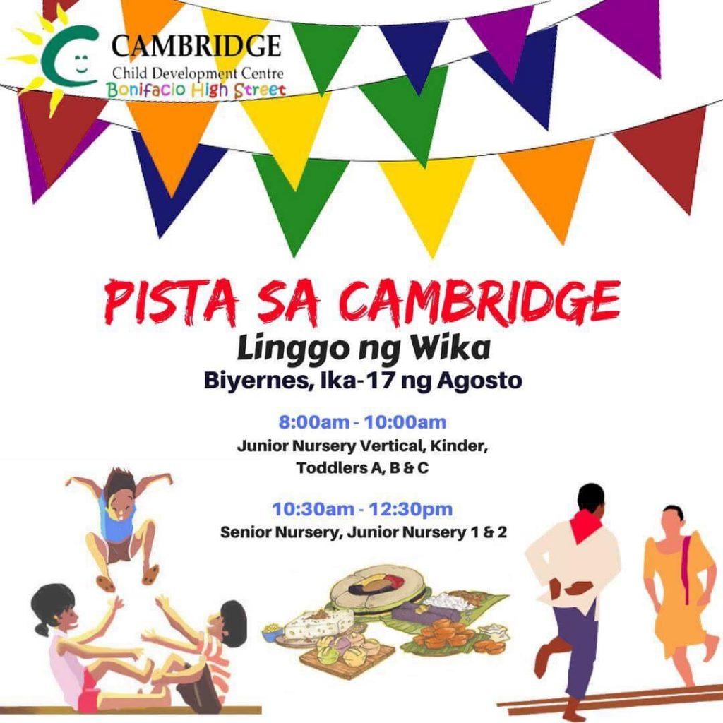 CCDC BHS Linggo ng Wika 2018 poster