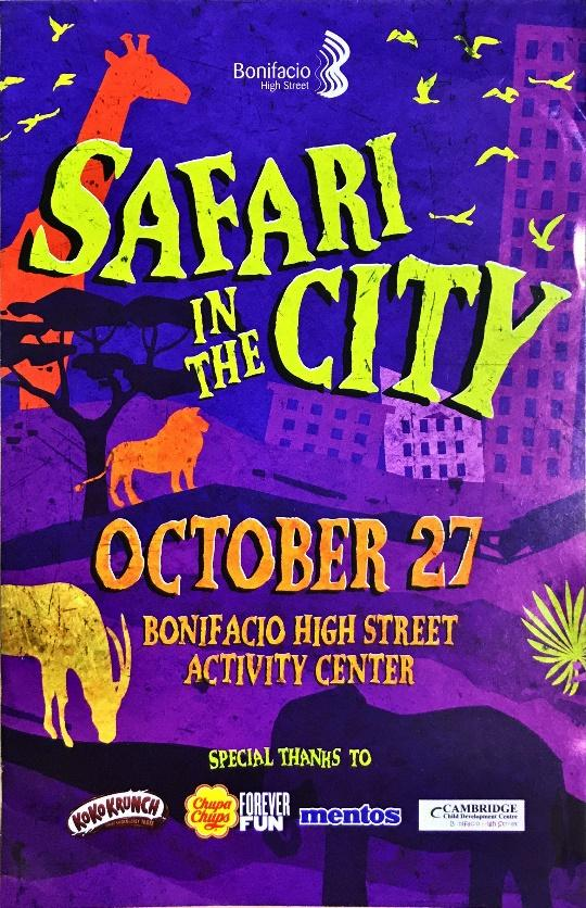 Cambridge Bonifacio High Street joined Safari in the City A Halloween Event article image 1