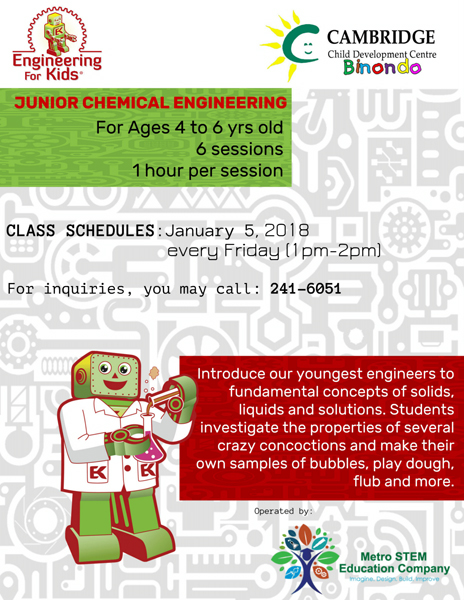 Junior Chemical Engineering Featured Image
