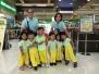 Nursery Kids Fieldwork to Robinsons Supermarket
