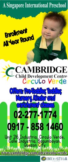 Cambridge Circulo Verde preschool trial classes