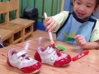 Shoe Painting Activity