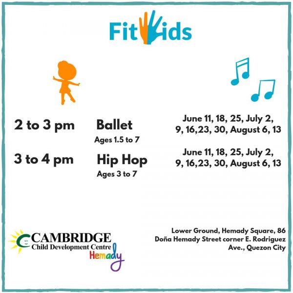 FitKids Schedule 20190530