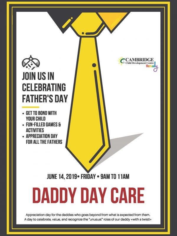 Father's Day Poster 2019