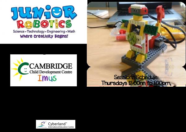 Cambridge Imus - Junior Robotics