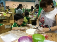 "Toddler's Culminating Event ""Blend In The Fun"""
