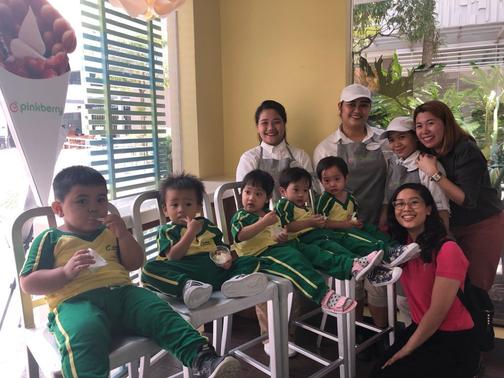 Cambridge Las Piñas Toddlers Class at Pinkberry ATC