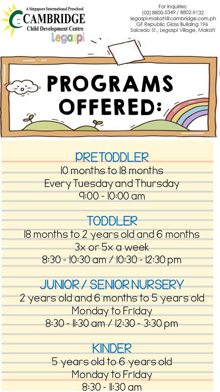 SY2019-2020 FLYER