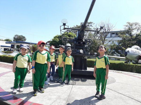 Cambridge Legaspi Senior Nursery visits the Aerospace Museum 01