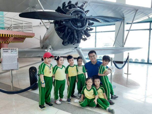 Cambridge Legaspi Senior Nursery visits the Aerospace Museum 02