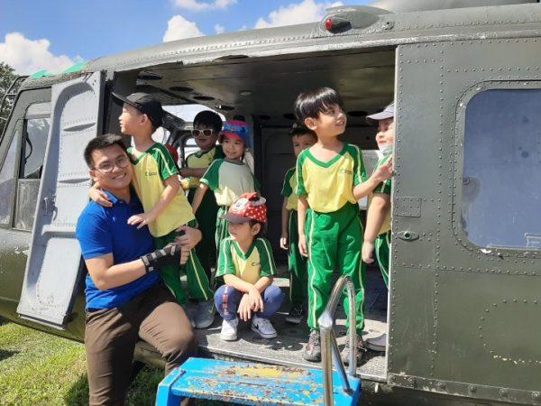 Cambridge Legaspi Senior Nursery visits the Aerospace Museum 03