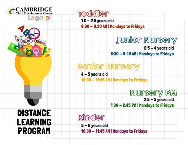 Cambridge Legaspi Distance Learning Program