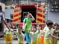 Nursery Class Goes to the Firestation