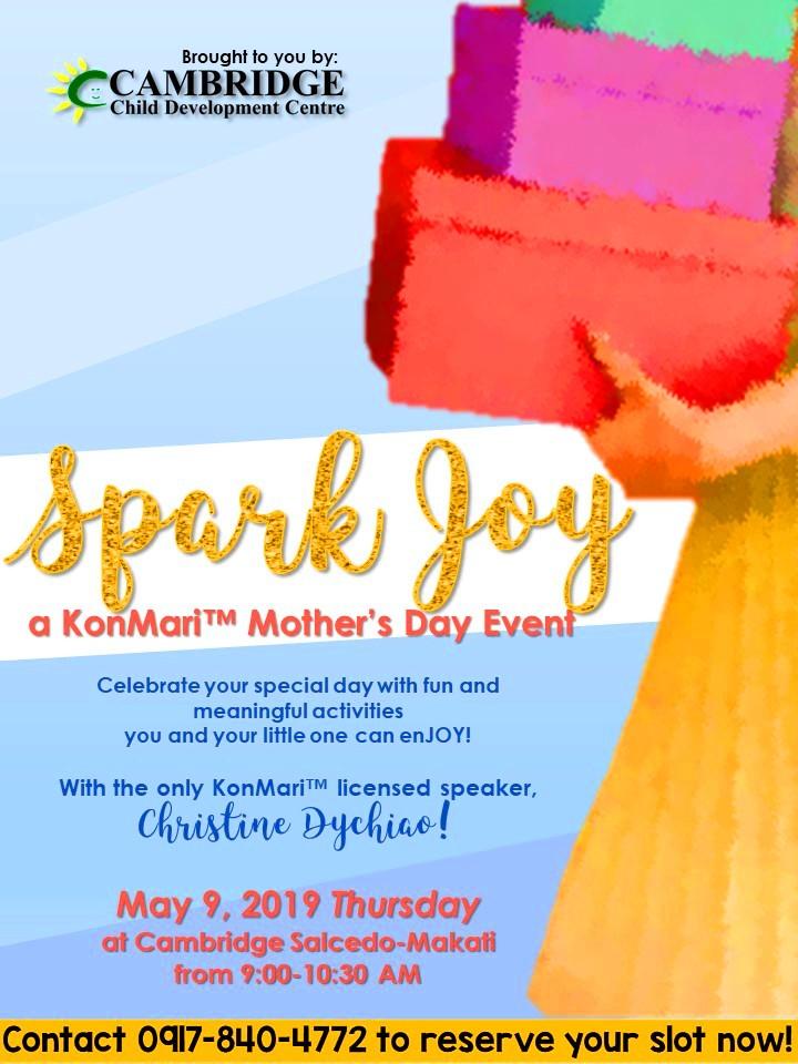 KONMARI MOTHER'S DAY POSTER