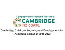 Academic Calendar SY 2021-2022