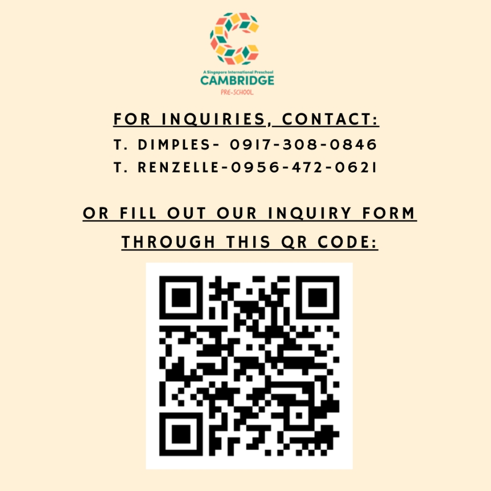 Green Centres inquiry form QR code