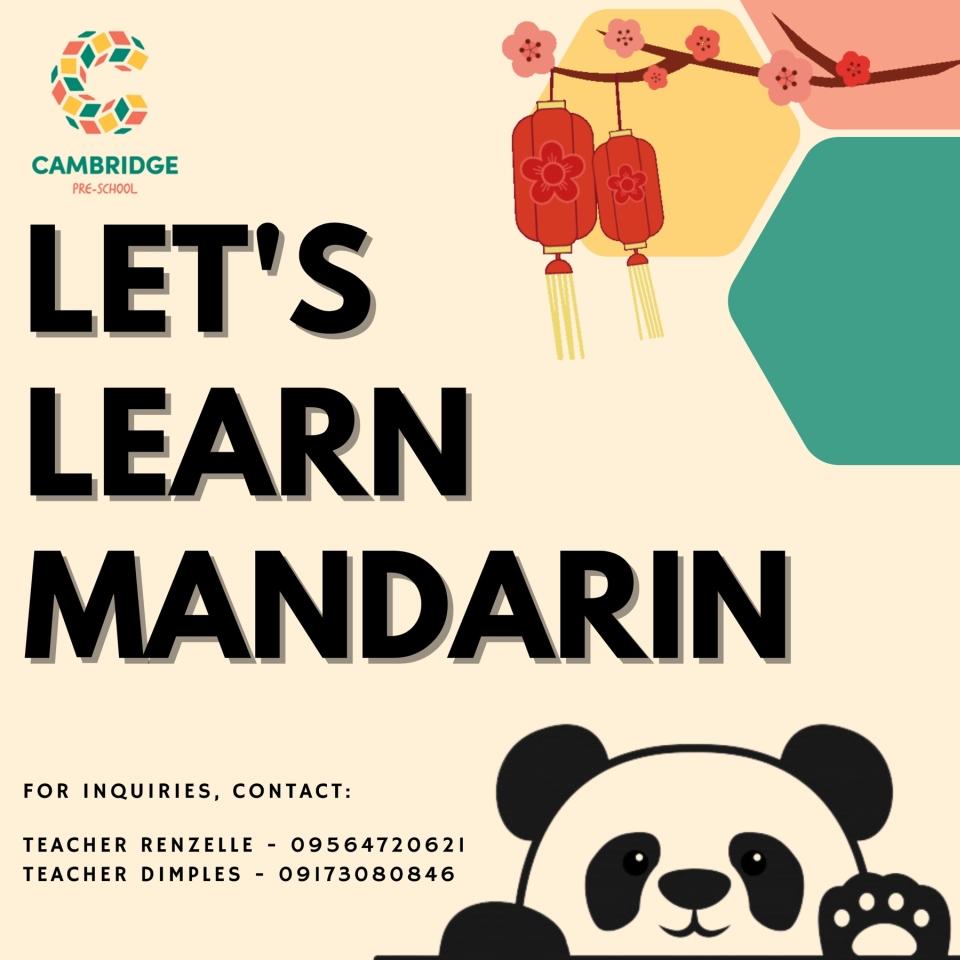 Let's Learn Mandarin 1